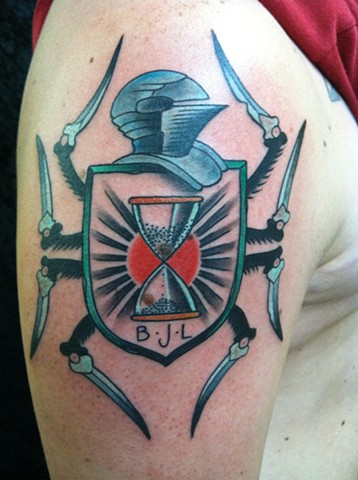 Spider legged Coat of Arms