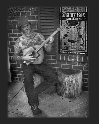 *Uncle Pauly's Shanty Box Guitars*