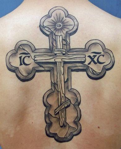 orthodox cross detail