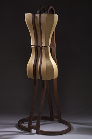 non-functional, dress form, sculpture