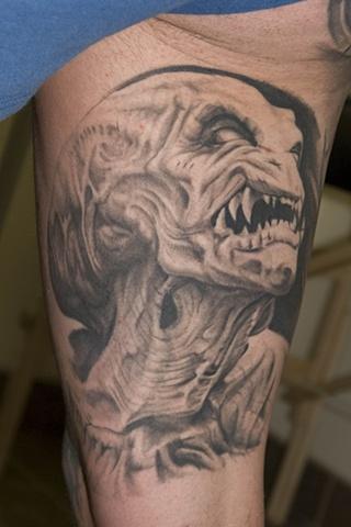 pumpkinhead tattoo oak adams
