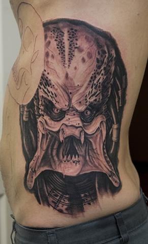 predator tattoo oak adams