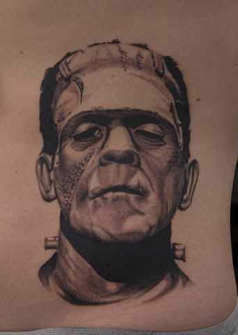 Boris Karloff Frankenstein Oak Adams