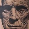 "Boris Karloff as ""The Mummy""  Tattoo by Oak Adams"