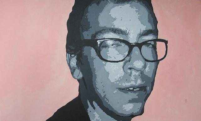 "Brock Acrylic on canvas 30"" x 48"" 2005  SOLD"