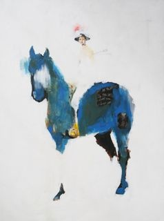 blue horse (sold)