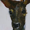 tiff's deer detail (sold)
