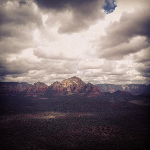 Untitled, Doe Mountain, Sedona, AZ