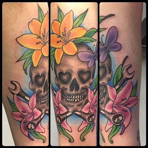 SKULL AND WRENCHES