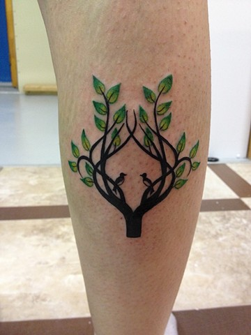 TREE/BIRDS