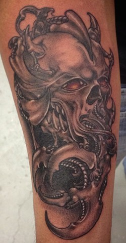 Biomechanical Skull