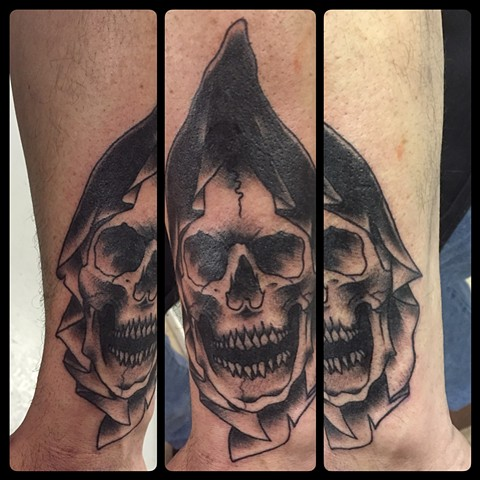 Traditional Style Grim Reaper