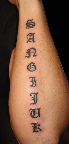 sangijuk tattoo