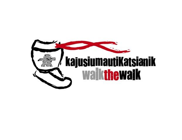 """LOGO- """"Walk the Walk"""""""
