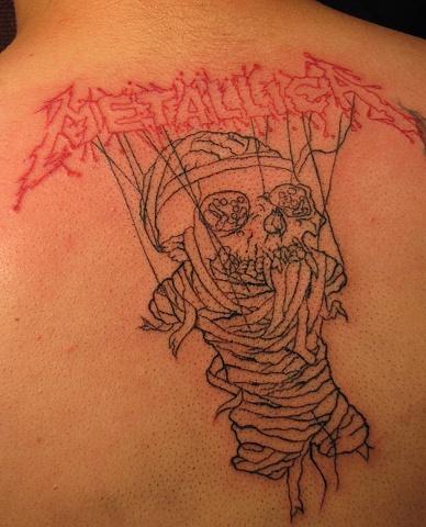 metallica one tattoo