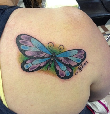 NEOTRADITIONAL BUTTERFLY