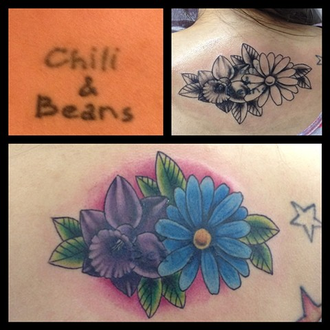FLOWERS COVERUP