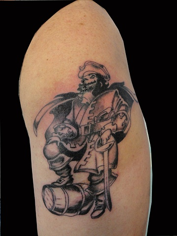 captain morgan tattoo