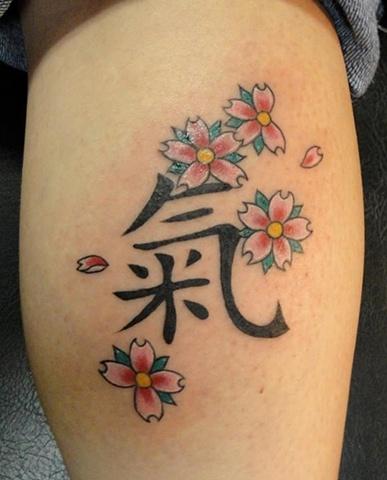 Kanji Energy Tattoo