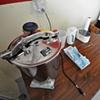 Sterilizing area