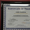 Bloodborne Pathogens and Infection Control Certificate.  Taken May 2011