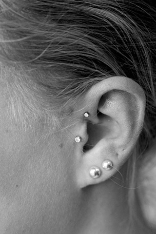Forward Helix and Tragus