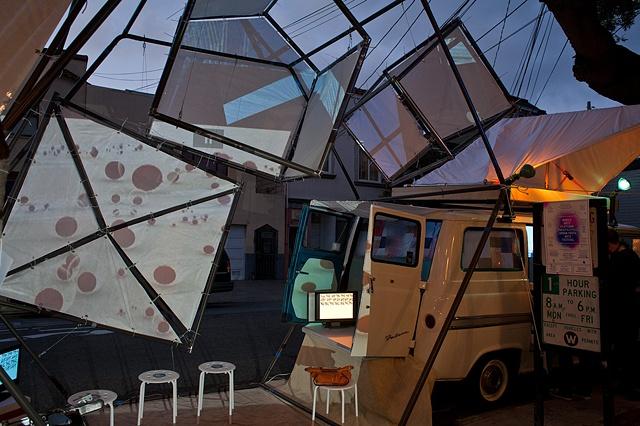 The Mobile Arts Platform (MAP) - Peter Foucault and Chris Treggiari in collaboration with Scott Kiernan, Matthew Parrott, John Urquhart and Patrick Wilson