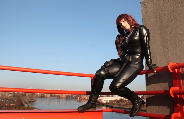 Gabby As Black Widow
