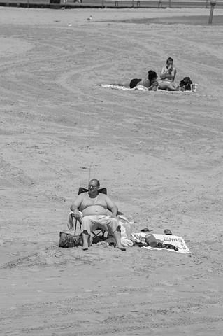 Coney Island Sun Bath