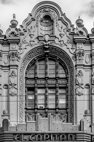 "El Capitan Theater Facade ~ San Francisco, CA USA ""Mission District"""