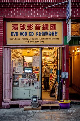 """Trade ~ San Francisco, CA USA """"Chinatown"""""""