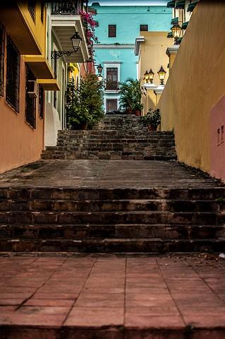 Stairway - Old San Juan
