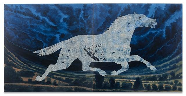 Tlazolteotl as a Horse