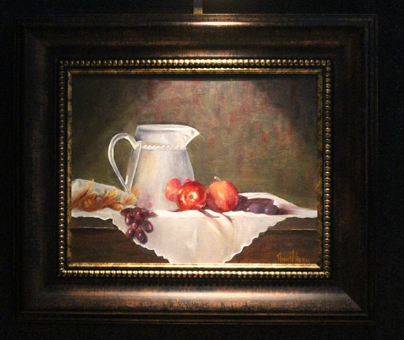 APPLES AND PITCHER