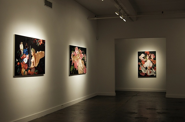 Leda's Daughter installation view 2  hpgrp GALLERY NEW YORK  February 2 - March 3