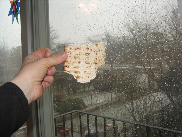 State Shaped Matzos