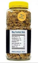 May Contain Nuts, Mirth of a Nation #3: The Best Contemporary Humor, edited by Michael J. Rosen.