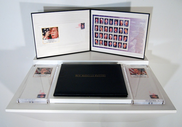 PNAC Commemorative Stamps, display