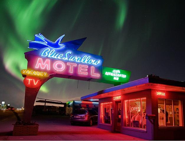 Blu Swallow Motel, Tucumcari, NM