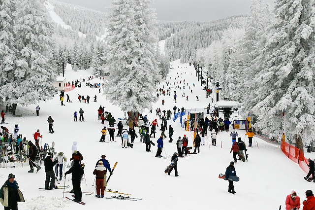 New Years Ski, Santa Fe, NM