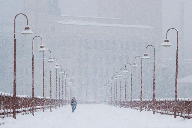 Snowy Serenity, Minneapolis, MN