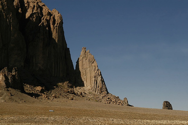 untitled, shiprock, new mexico