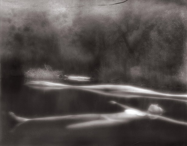 "Beth 1, San Francisco Hot Springs, NM 1996 zone plate photograph archival pigment print 13""x20"""