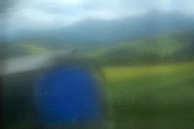 Blue Barn Qinghai Province, China