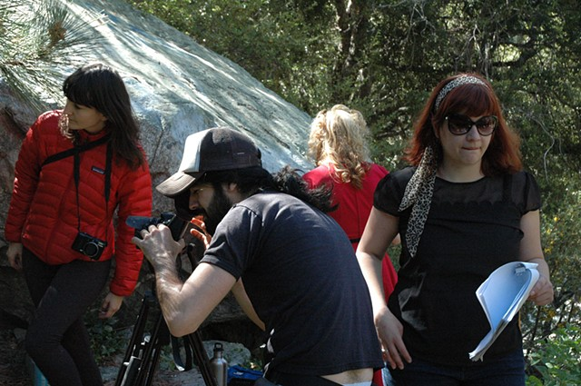 "On the Set of ""How To Be A Female Director"""