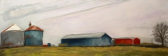 Ohio farmland in December