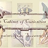 "postcard for ""Cabinet of Curiosities"""