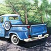Blue Chevy Truck- Shinnecock Canal, NY