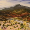 Victor Higgins Paints Pedernal