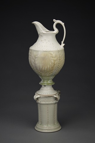 Ceremonial Pitcher w/ Plinth